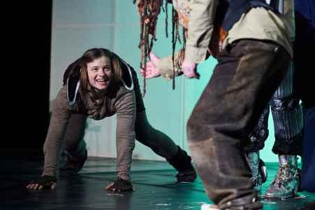 Premiere Zauberer von Oz vom Theater Ecce in Leogang